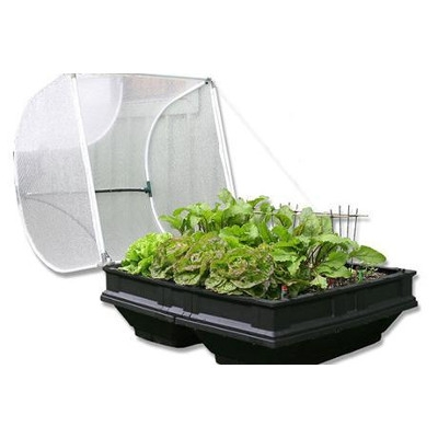 Medium Raised VegePod Garden Bed with Garden Cover