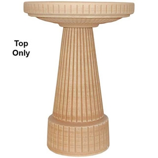 Loam Brown Universal Birdbath Top