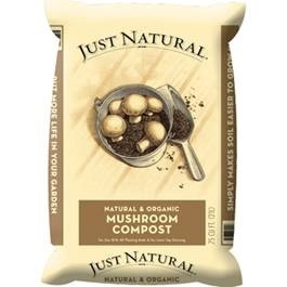 Just Natural Mushroom Compost, .75 cu. ft.