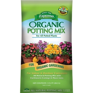 Espoma Organic Potting Mix 1 cu ft Bag