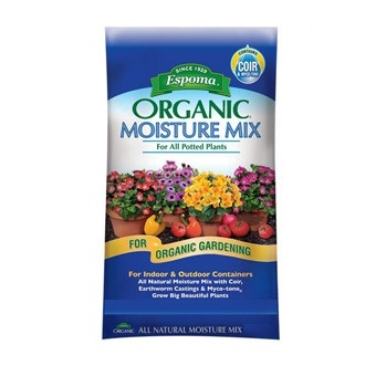 Espoma Organic Moisture Mix for Potted Plants 2 cu ft Bag