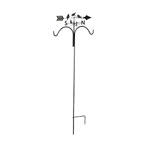 Shepherd's Hook with Weathervane