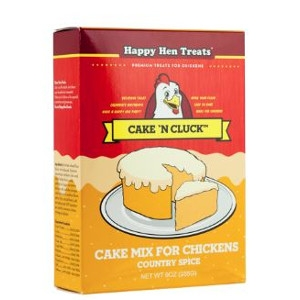 Happy Hen Cake N Cluck – Pumpkin 9oz