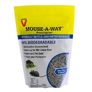 Victor Mouse-A-Way Repellent 1.75 lbs. Covers 100 linear feet