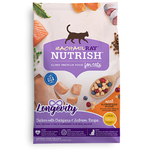 Rachel Ray Nutrish Cat Longevity 6lb. Bag