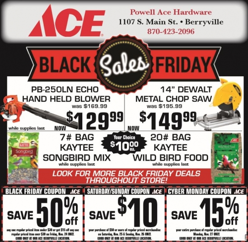 Ace Black Friday Sales!
