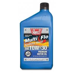 Super S Multi Flo Synthetic Cycle Engine Oil