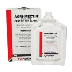 Agri-Mectin Pour On Cattle Wormer