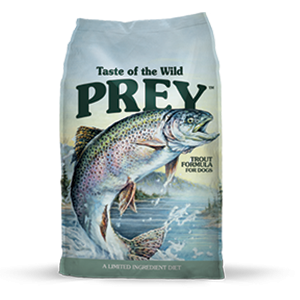 PREY Trout Limited Ingredient Formula For Dogs