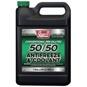 Super S Green 50/50 Antifreeze and Coolant