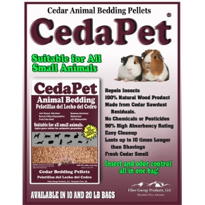 Fiber Energy Products CedaPet Animal Bedding