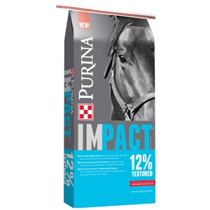 Purina® Impact® 12% Textured Horse Feed