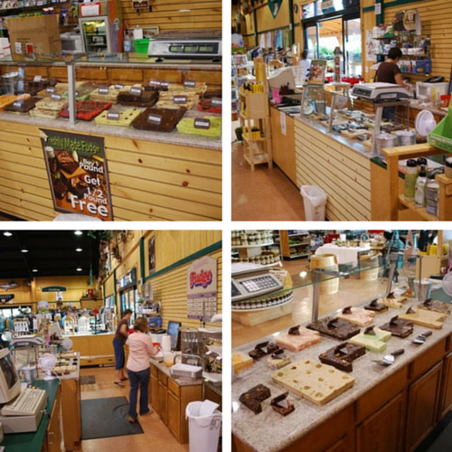 Around the Fudge Counter