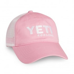 Yeti Pink Low Profile Trucker Hat
