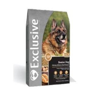 Exclusive Senior Dog Chicken and Brown Rice Formula