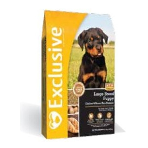 Exclusive Large Breed Puppy Chicken and Brown Rice Formula