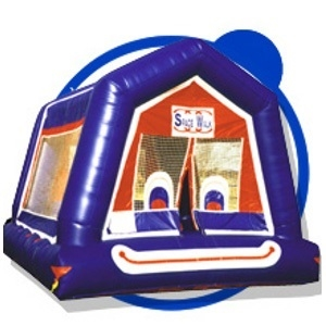 Inflatable Clown Face Toddler Bounce House