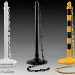 Uniquely Expo® Plastic Stanchion Posts & Chain