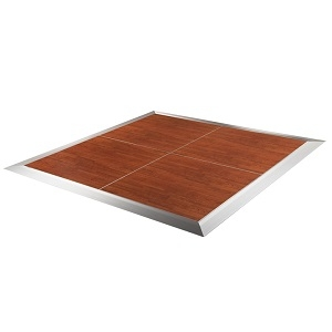 4x4 Dance Floor, Portable, Cherry