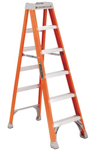6 Foot Fiberglass Step Ladder