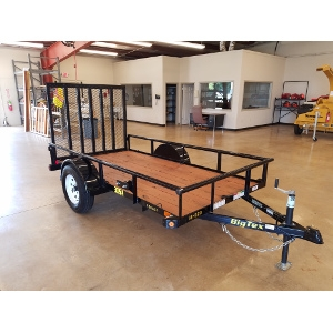 Big Tex 5' X 10' Single Axle Utility Trailer