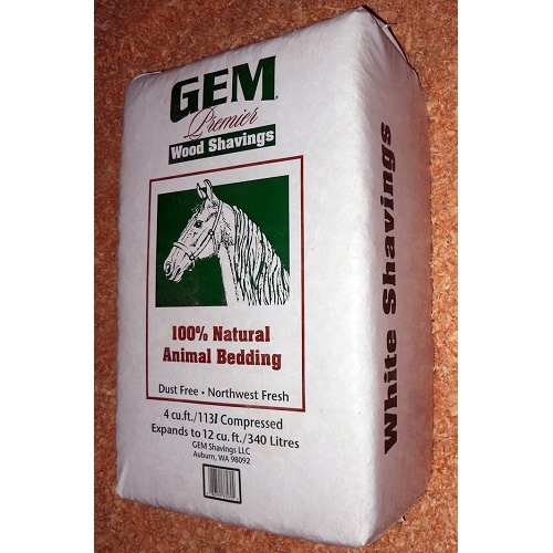 GEM Premier White Shavings