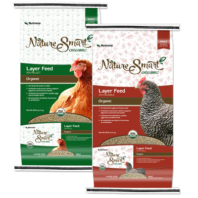 Nutrena Nature Smart® Organic Poultry Feed, 40 lbs. Pellet or Crumble