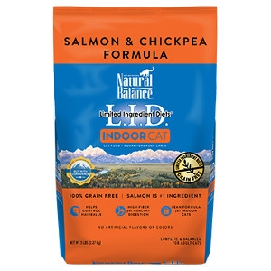 L.I.D. Limited Ingredient Diets® Indoor Salmon & Chickpea Dry Cat Formula