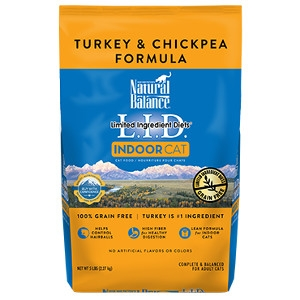 L.I.D. Limited Ingredient Diets® Indoor Turkey & Chickpea Dry Cat Formula
