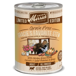 Merrick Grain Free Gracie's Favorite Stew 12.7oz Can