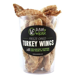 VE RAW BAR™ Freeze-Dried Turkey Wings