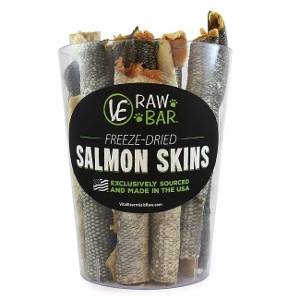 VE RAW BAR™ Freeze-Dried Salmon Skins