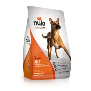 Nulo FreeStyle Adult Dog Grain Free Turkey & Sweet Potato 24lb