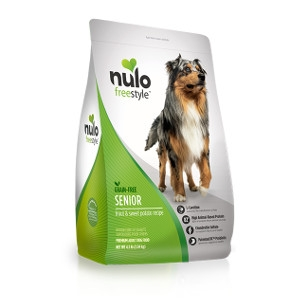 Nulo FreeStyle Senior Dog Grain Free Trout & Sweet Potato 24lb