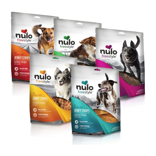 Nulo Freestyle Grain Free Jerky Strips 5oz