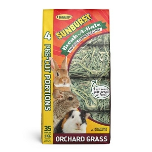 Higgins Sunburst Break-A-Bale Orchard Grass 35oz