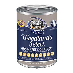 NutriSource® Woodlands Select Grain Free Canned Dog Food