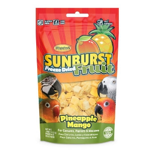 Higgins Sunburst® Freeze Dried Pineapple & Mango Caged Bird Treats