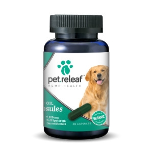 Pet Releaf CBD Hemp Oil Capsules 450mg