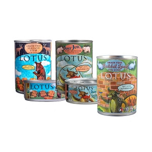 Lotus Natural Food for Pets Canned Dog Food