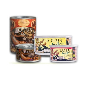 Lotus Natural Food for Pets Canned Cat Food