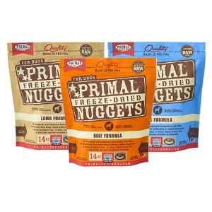 Primal Freeze-Dried Nuggets for Dogs