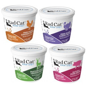 Rad Cat Raw Cat Food Diet