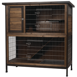 Kaytee Rabbit Hutch 2-Story 48-Inch Wide