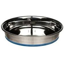 Rubber Boonded Stainless Steel Pet Bowl