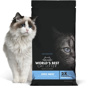 50% Off World's Best Cat Litter Zero Mess