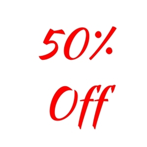 50% Off Holiday Giftware