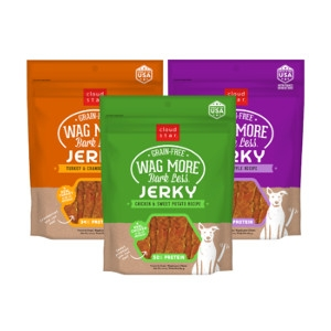 Cloud Star Wag More Bark Less Grain Free Jerky