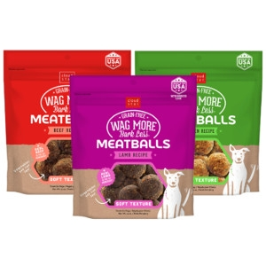 Cloud Star Wag More Bark Less Grain Free Meatballs