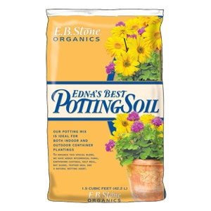 E.B. Stone Organics Edna's Best Potting Soil 1.5 Cu. Ft.